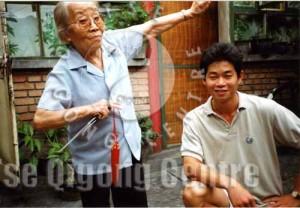 Grandmaster Yang Meijun and Master Tse