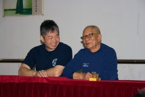 Master Tse and Grandmaster Ip Chun